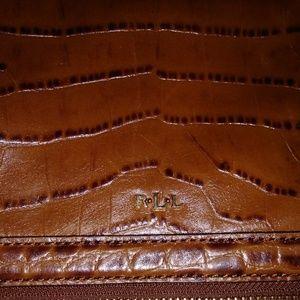 Ralph Lauren crossbody bag euc